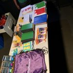 We were blessed to bless 20 children with school supplies.